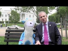 100 days to go to the London 2012 Paralympic Games!    On a recent visit to Washington, Foreign Office Minister David Lidington and London 2012 Paralympic Mascot Mandeville marked the countdown to the Games.