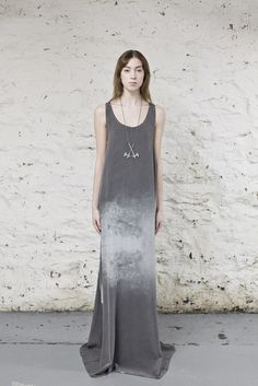 "Ovate ""Whispers of the Mountains"" Silk Gown"