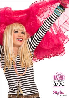 Pin your favorite Betsey Johnson images for a chance to win a $500 Betsey Johnson shopping spree and be featured on TV as Style Network's Pinner of the Week! Click to enter: http://www.stylenetwork.com/betseypinitsweeps