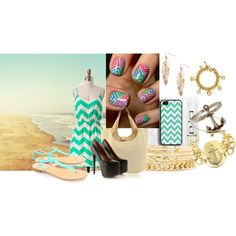 """Chevron!"" by nessa-seme on Polyvore"