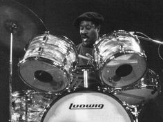 fred below - blues drummer