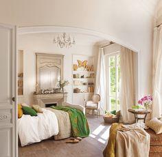 Un espacio para el relax  Con luz natural, sin estímulos visuales potentes y con buena ventilación. Así es este dormitorio. Para ayudar más ...