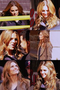 Kate Beckett - I want her hair! Love the color...