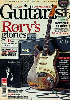 Guitarist magazine - Rory Gallagher article