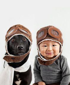Zwerfhond & Baby Jasper zijn dikke maatjes