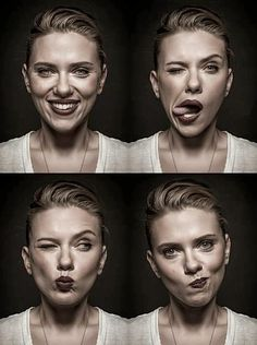 "Scarlett Johansson :) How nice to see someone ""real"" and not just a glamour shot."