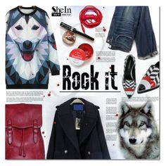 """SheIn 3 N1"" by barbarela11 ❤ liked on Polyvore featuring moda, Madewell, Urbanears e Nicholas Kirkwood"