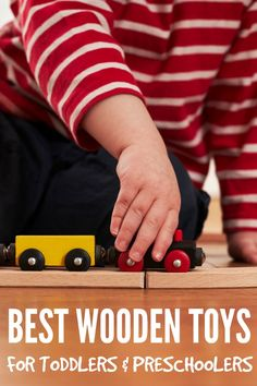 Our Favourite Wooden Toys for Toddlers & Preschoolers