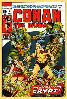 Conan Marvel Comics | conan 8 | Marvel Comic Covers | Pinterest