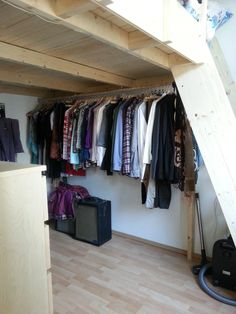 Loft Beds With Closets Underneath