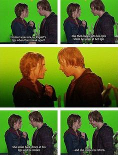 I know they're just friends in real life but... WHY AREN'T RUPERT AND EMMA TOGETHER?!?!