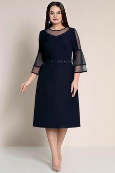 Evening Dresses Plus Size, Plus Size Dresses, Plus Size Outfits, Chic Dress, Classy Dress, Chic Outfits, Dress Outfits, Casual Dresses, Modelos Plus Size