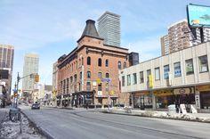 Corner of Yonge & Gloucester Streets, 2016 Gloucester Street, Downtown Toronto, Vintage New York, Ontario, New York City, Street View, Corner, Canada, New York