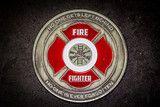 Firefighter Prayer Coin
