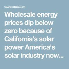 Wholesale energy pri