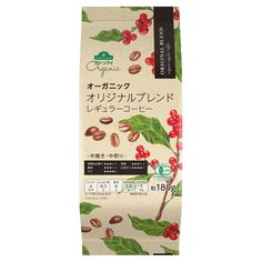 Organic Coffee packaging for AEON Japan. / Illustration by Justine Wong / #illustration #packaging #japan #coffee