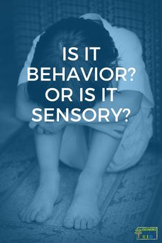 Are you struggling with your child and their challenging behaviors? Are you wondering if it is a behavior or could be sensory processing challenges? Get your questions answered in this post! Hands On Activities, Sensory Activities, Kid Activites, Sensory Motor, Sensory Diet, Play Based Learning, Project Based Learning, Early Learning, Pediatric Physical Therapy