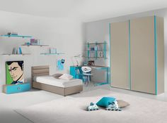me Contemporary Kids Bedroom Bed Ideas Kids Bedroom Themes Modern Modern Kids Bedroom, Modern Bunk Beds, Modern Bedroom Furniture, Kids Furniture, Modern Loft, Luxury Furniture, Modern Bedrooms, Bedroom Kids, Bedroom Themes