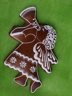 Dekoratívne medovníky - Fotoalbum - Vianočné Christmas Goodies, Christmas Angels, Christmas Holidays, Christmas Decorations, Christmas Ornaments, Christmas Gingerbread Men, Gingerbread Cookies, Fun Cookies, Holiday Cookies