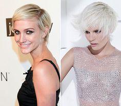 Ashley Simpson Wentz rockos, szöszi frizurájának is rengeteg alternatívája van, melyek idén nagyon divatosak. Ennél a fazonnál nem baj, ha a szőkeség nem túl természetes: a tépett stílus vagányabbá teszi a platinaszőkét.