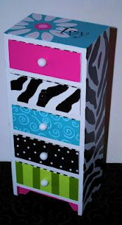 Hand painted furniture for girls room