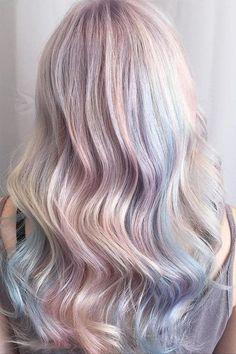 Opal Hair Color Idea