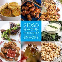 21DSD Recipe Roundup | Snacks | The 21-Day Sugar Detox by Diane Sanfilippo