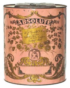 Absolute Coffee Store Bin   Antique Advertising Value and Price Guide