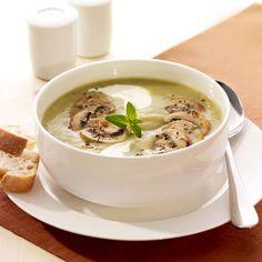 Kartoffel-Champignon-Suppe