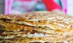 This vegan egg-free, dairy-free pancake mix recipe is so good that everyone will ask for more.Enjoy this vegan recipe with all your friends! Dairy Free Pancakes, Vegan Pancakes, Doha, Dairy Free Recipes, Paleo Recipes, Big Fernand, Vegan Pancake Recipes, Free Meal Plans, Coconut Flour