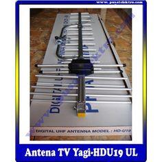 ANTENA TV UHF ( YAGI HDU-19UL )  Benefit & Keuntungan Yang Anda Dapatkan :  - 1 Unit Antena UHF type ( YAGI HDU-19UL ) - 10 Meter Kabel Coaxial 5C - 1 Buah Jeck TV & Connector Drat - Free Instalasi & Setting Channel TV - Garansi Teknis 1 Bulan  Pesan & Pasang Sekarang Juga...!!!  Pusat Elektro  Phone : (021)  560 5533 Mobile : 0812 8930 5533 W.A.   : 0859 5905 5000  Info Lengkap :http://www.pusatelektro.com