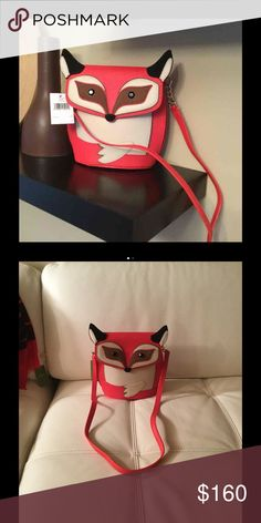 Fox purse Brand new. Authentic all the tags in. kate spade Bags Crossbody Bags