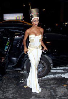 Tika Sumpter as Queen Nefertiti (Halloween 2013)