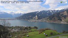 Webcams in Salzburg, aktuelles Wetter und Vorhersage, für Kite- und Windsurfer, Segler, Stand-Up-Paddling, Paragleiter & Drachenflieger