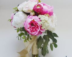 Keep your wedding bouquet for ever with these gorgeous silk flowers from blue orchid designs on Etsy.    For more wedding inspiration check out our blog www.creativeweddingco.com
