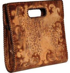 http://www.cowgirlkim.com/old-gringo-anastacia-purse.html  Old Gringo Anastacia Purse - cheetah, leather, tooled, cowhide, clutch, western wear