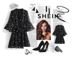 """SHEIN"" by armina-saric ❤ liked on Polyvore featuring Maybelline, ASOS, Sisley and Burberry"