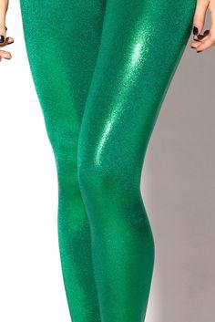 Juicy Fruit Grass Leggings. Be perfect for this years mermaid costume