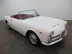 1960 Alfa Romeo 2000 Touring Spider.