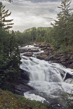 This was taken at Chutes Provincial Park outside of the town of Massey, Ontario.