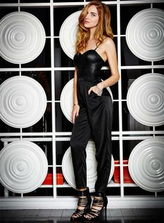 We're loving this #glam jumpsuit on Chiara! #style