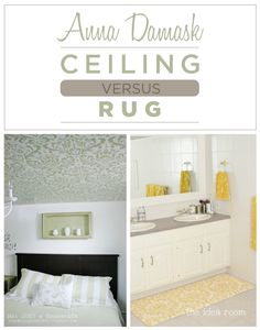 Which do you prefer: Stenciled Ceilings or Stenciled Rugs?I prefer stenciled Rugs