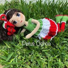 Knitting Patterns Pillow Como tejer chal en crochet muñeca María, amigurumis by Petus video (English subtitles) Crochet Boots, Crochet Slippers, Knitting Patterns, Crochet Patterns, Doll Dress Patterns, Soft Dolls, Amigurumi Doll, Doll Toys, Diy Clothes