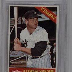 Comics fans of all ages will love this 1966 Topps  50 Mickey Mantle AUTHENTICATED New York Yankees Baseball Card! Each sold separately, subject to. Mickey Mantle 1966 Topps Card,   50, PSA PR 1, New York Yankees. 1966 Topps  50 Mickey Mantle AUTHENTICATED New York Yankees Baseball Card. #BaseballCards #baseballcard #Baseball #Cards #Sports #Deals #Collectibles #gifts