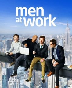 Men At Work (2012-2014) This show was pretty darn funny and clever.  And, ladies, there is eye candy :)