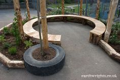 Playground Build & Design | Natural, Wood | EarthWrights                                                                                                                                                                                 More