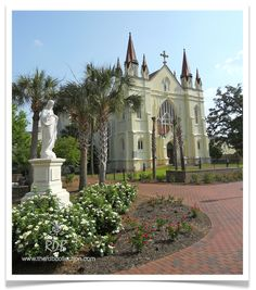 "Original fine art photograph by Renee Dent Blankenship of ""St. Joseph's, Spring Hill College"", Mobile, Alabama"