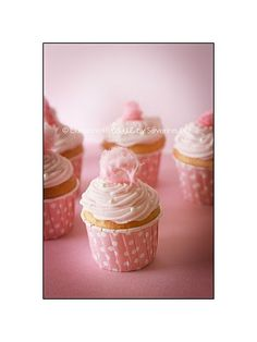 Cupcakes Barbe à papa