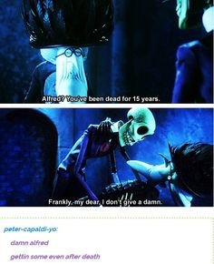 Corpse bride  And Gone with the wind