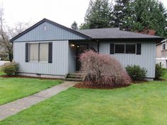 """""""Pride of ownership throughout this very well maintained home. Comfortable family room with real woodstove, bay window, ceiling fan and skylight. Efficient kitchen with dining area. Large living room with Mount Si view. The covered patio on this level corner lot is nice and private. Needs cosmetic updating, but has great bones. Paved parking area next to back door. Small shed for garden tools. ...  More Details www.TheCascadeTeam.com"""